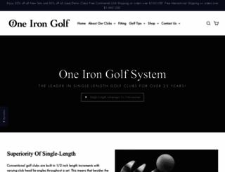 1irongolf.com screenshot