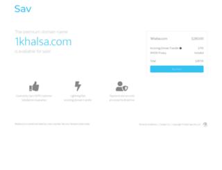 1khalsa.com screenshot