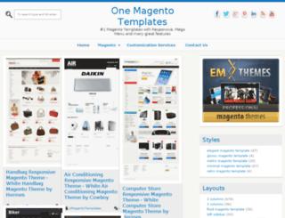 1magentotemplates.com screenshot