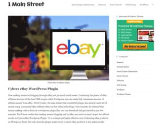 1mainstreet.com screenshot