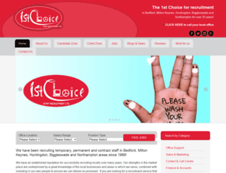 1stchoice.net screenshot