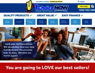 1stchoicerentals.com.au screenshot