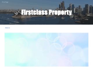 1stclassproperty.com.au screenshot