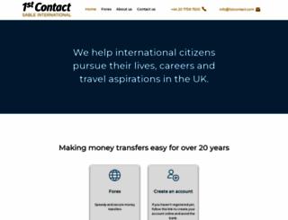 1stcontact.com screenshot