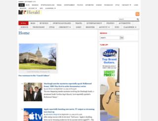 1stherald.com screenshot