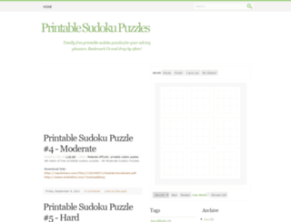 graphic about Krazydad Printable Sudoku known as Krazydad Sudoku at