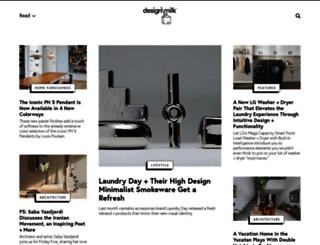 2.design-milk.com screenshot