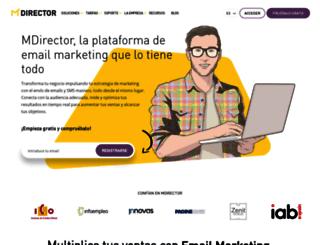 2013.mdirector.com screenshot
