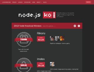 2013.nodeknockout.com screenshot