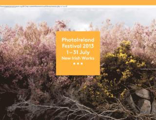 2013.photoireland.org screenshot