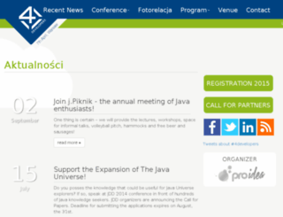 2014.4developers.org.pl screenshot
