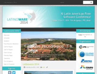 2014.latinoware.org screenshot