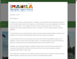 2015manilarotaryinstitute.org screenshot