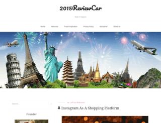2015reviewcar.com screenshot