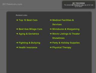 2017bestcars.com screenshot