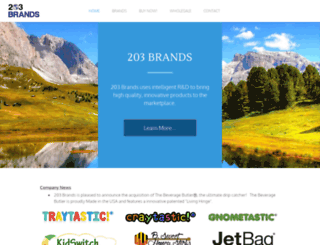 203brands.com screenshot