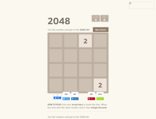 2048-puzzle.blogspot.com.es screenshot