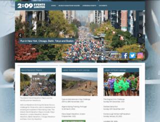 209events.com screenshot
