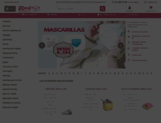 20milproductos.com screenshot