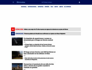 20minutos.com screenshot