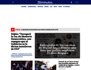 20minutos.es screenshot
