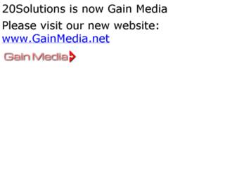 20solutions.com screenshot