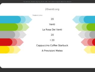 20venti.org screenshot
