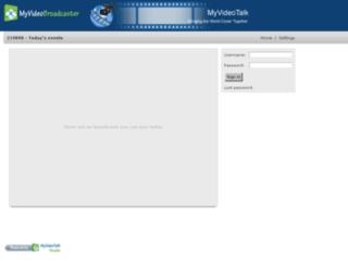 219898.myvideobroadcaster.com screenshot
