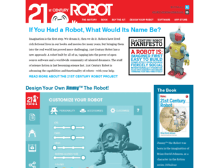 21stcenturyrobot.com screenshot