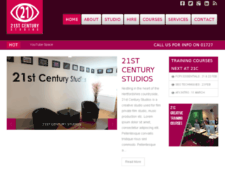 21studios.co.uk screenshot
