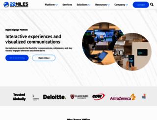 22miles.com screenshot