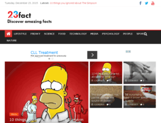 23fact.com screenshot