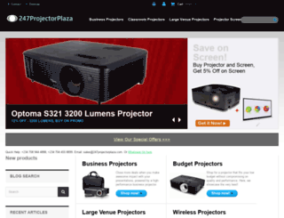 247projectorplaza.com screenshot