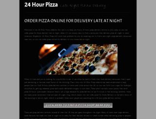 24hourpizza.co.uk screenshot