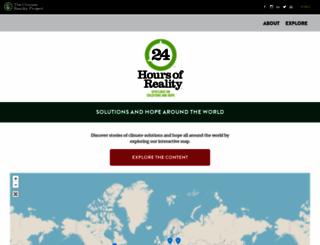24hoursofreality.org screenshot