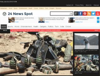 24newsspot.com screenshot