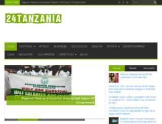 24tanzania.com screenshot
