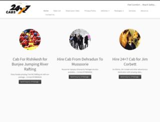 24x7cabs.com screenshot