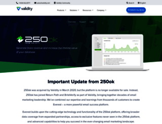 250ok.com screenshot