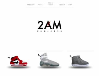 2amprojects.com screenshot