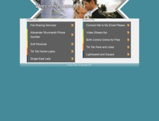 2become1.com screenshot