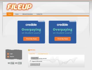 2fileup.in screenshot