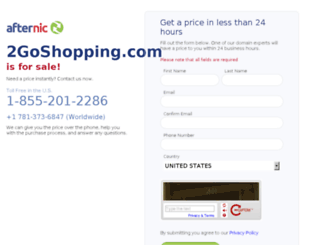 2goshopping.com screenshot