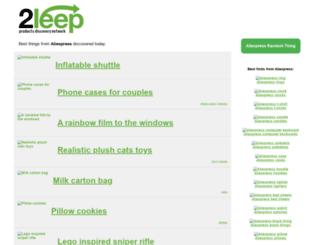 2leep.com screenshot