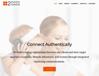 2momsmedia.com screenshot