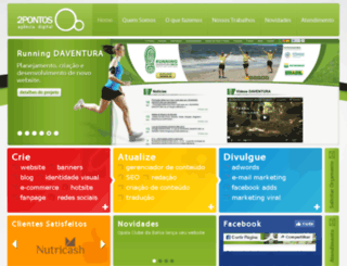 2pontos.net screenshot