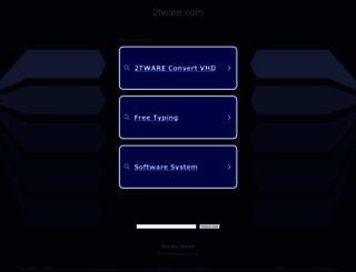 2tware.com screenshot