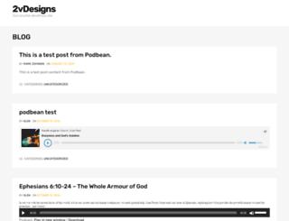 2vdesigns.com screenshot