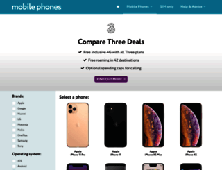 3-mobileshop.co.uk screenshot