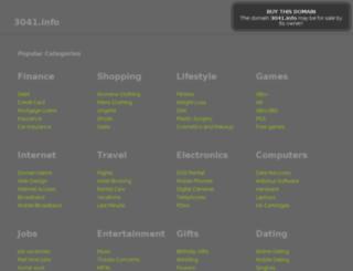 3041.info screenshot